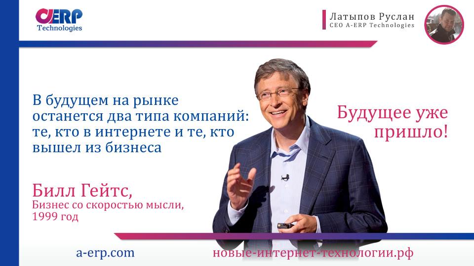 Современный бизнес - бизнес будущего
